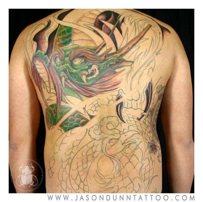 Jason Dunn at 0120 AM in Backpiece Tattoos Full Body Tattoos