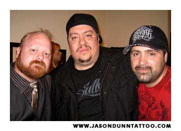Jason Dunn, Tom Berg, Franco Vescovi