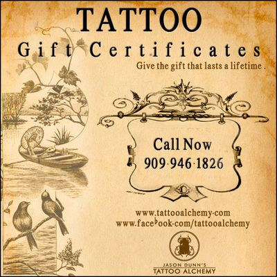 It's all about you and beautiful custom tattoo art! Swing by Tattoo Alchemy