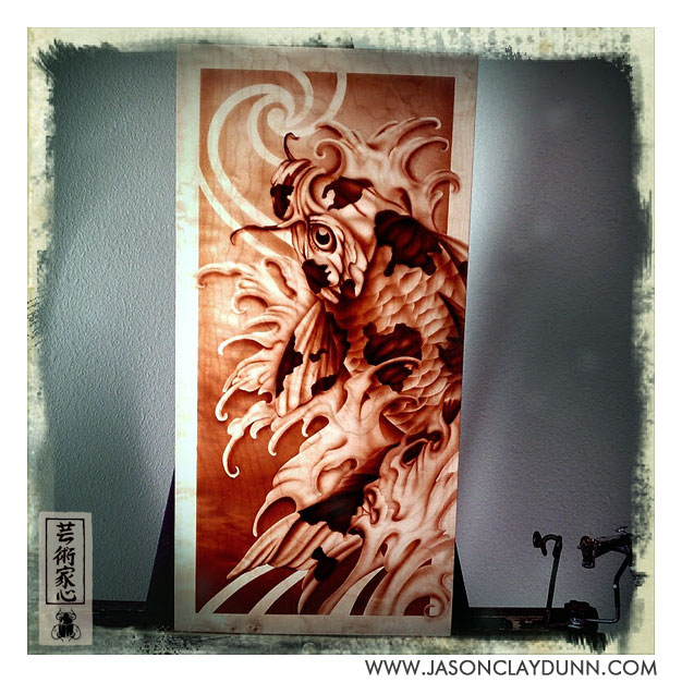 Koi-fish-painting-original-art-curlymaple-jasondunn-001